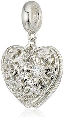 Swarovski Chamilia Melt My Heart Locket Zirconia Charm Duo Charm