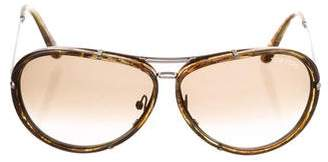 Tom Ford Aviator Gradient Sunglasses