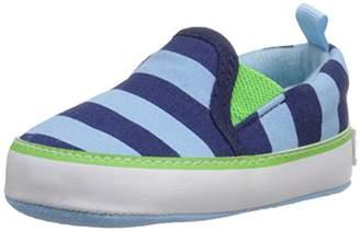 Gerber Boys' lt Blue Canvas Slip on Sneaker-K