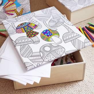 Deja Ooh Colouring In Keep Sake Box