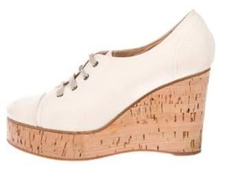 BEIGE Chloé Low-Top Wedge Sneakers Chloé Low-Top Wedge Sneakers