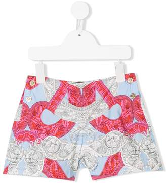 Versace printed shorts