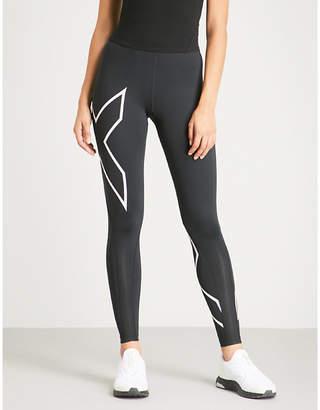 2XU X-print compression leggings