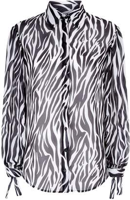 Robert Rodriguez Zebra Print Shirt