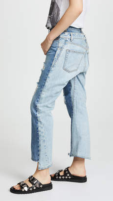R 13 Keaton Double Back Jeans