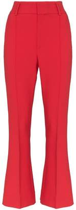 By Ti Mo By Timo kick flare suit trousers