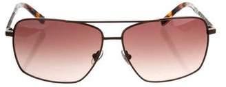 John Varvatos Brown Tinted Sunglasses