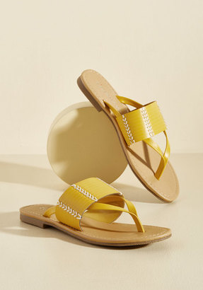 Fortune Dynamic Hilton Head in the Game Sandal in Sunshine $24.99 thestylecure.com