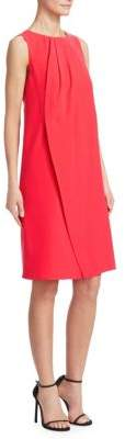 Emporio Armani Sleeveless Draped Front Dress