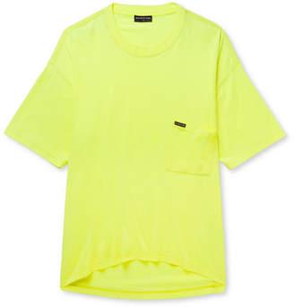 Balenciaga Oversized Cotton-Jersey T-Shirt