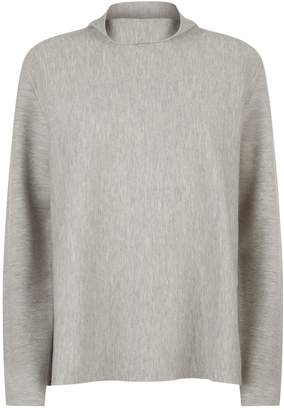 Allude Ribbed Turtleneck Sweater