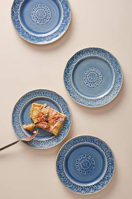 Anthropologie Old Havana Side Plates, Set of 4