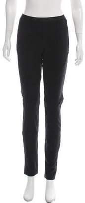Helmut Lang Virgin Wool Skinny Leg Pants Black Virgin Wool Skinny Leg Pants