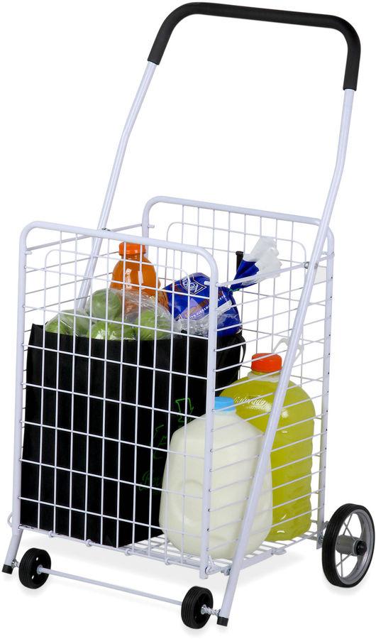 Honey-Can-Do Jumbo Folding Rolling Utility Cart