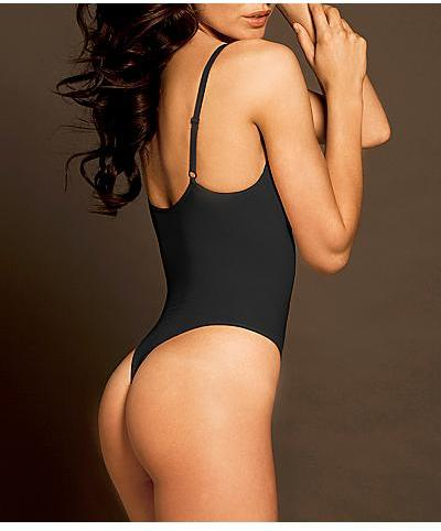 Body Wrap Pin-up Shaping Thong Bodysuit with Underwire Shapewear
