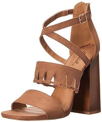 Qupid Women's Boogie-04 Gladiator Sandal
