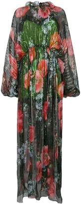 Gucci floral-print maxi dress