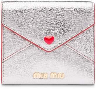 Miu Miu (ミュウミュウ) - Miu Miu フラップ財布