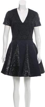 Amen Jacquard A-Line Dress w/ Tags