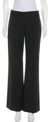 Kenneth Cole Pinstripe Mid-Rise Pants