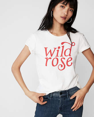 Express Wild Rose Easy Graphic Tee