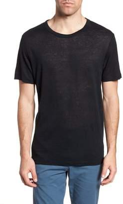 Theory Regular Fit Essential Linen T-Shirt