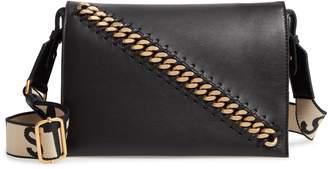 Stella McCartney Logo Strap Faux Leather Crossbody Bag 20c95f96bf248