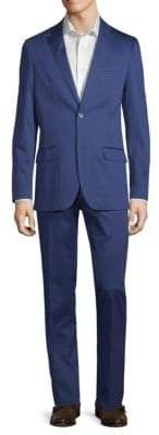Ben Sherman Stretch Cotton Solid Suit