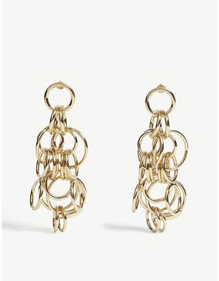 Chloé Circle drop earrings