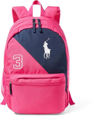 Ralph Lauren Color-Blocked Backpack