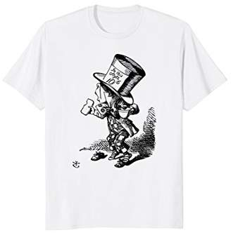 Big Texas Alice in Wonderland - Mad Hatter Hastily T-Shirt