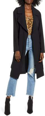 Leith Relaxed Soft Trench Coat