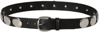 Alberta Ferretti 30MM STUDDED LEATHER BELT