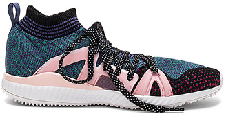 adidas by Stella McCartney Crazymove Bounce Sneaker in Blue $170 thestylecure.com