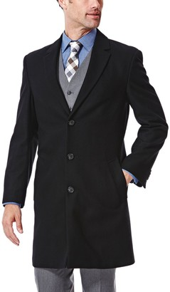 Ike Behar Men's Modern-Fit Wool-Blend Top Coat