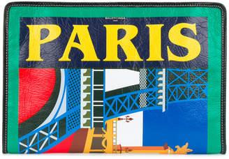 Balenciaga Paris Bazar pouch