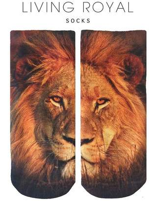 LIVING ROYAL Lion Ankle Socks