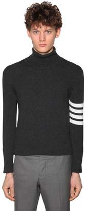 Thom Browne Cashmere Knit Sweater W/4 Bar Detail