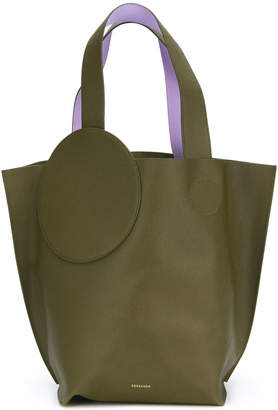 Roksanda circle path tote bag