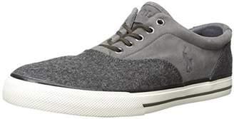 Polo Ralph Lauren Men's Vaughn Saddle Tweed Fashion Sneaker