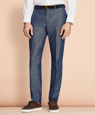 Brooks Brothers Cotton-Mohair Suit Trousers