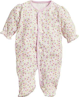 Playshoes Baby Girls' Schlafoverall Blumen Sleepsuit,(Size: 62)