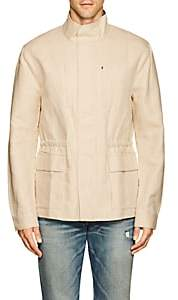 James Perse MEN'S COTTON-LINEN UTILITY JACKET-NEUTRAL SIZE 4