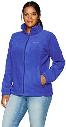 Columbia Women's Plus-Size Benton Springs Full-Zip Fleece Jacket