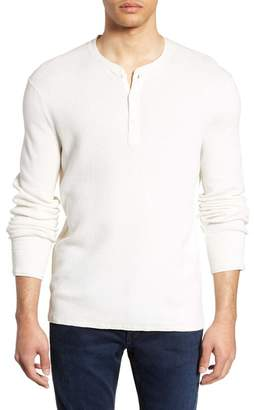 Rag & Bone Davis Slim Fit Thermal Henley