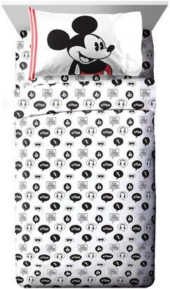 Disney Mickey Mouse 3 Piece Twin Sheet Set Bedding
