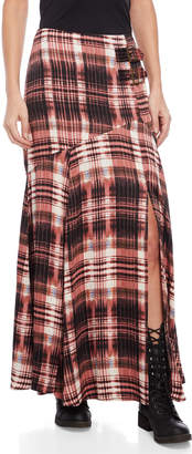 Free People Season of the Wind Printed Maxi Skirt