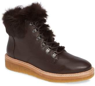 Botkier Winter Genuine Rabbit Fur Trim Boot