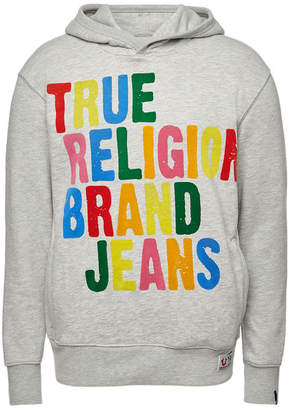 True Religion Cotton Hoody with Logo