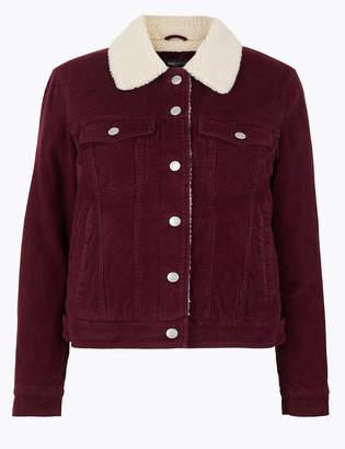 Marks and Spencer Corduroy Short Jacket